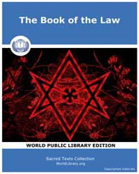 The Book of the Law by