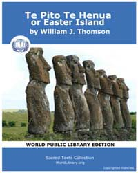 Te Pito Te Henua, or Easter Island by Thomson, William J.