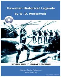 Hawaiian Historical Legends by Westervelt, W. D.
