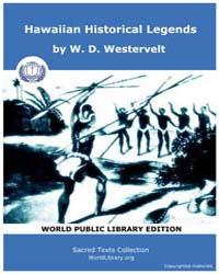 Hawaiian Historical Legends by Westervelt, W. D.