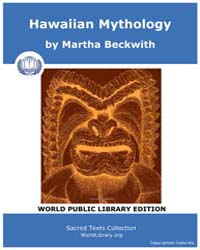 Hawaiian Mythology by Beckwith, Martha