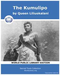 The Kumulipo by Liliuokalani, Queen