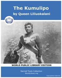 The Kumulipo by Liliuokalani, Queen