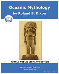Oceanic Mythology by Dixon, Roland B.