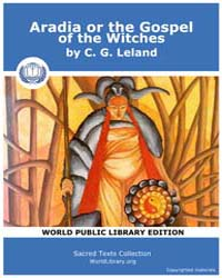 Aradia, or the Gospel of the Witches by Leland, C. G.