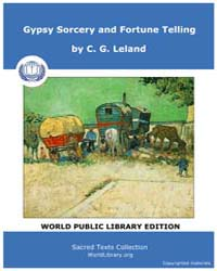 Gypsy Sorcery and Fortune Telling by Leland, C. G.