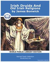 Irish Druids And Old Irish Religions by Bonwick, James