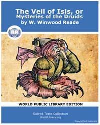The Veil of Isis or Mysteries of the Dru... by Reade, W . Winwood