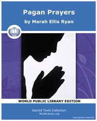 Pagan Prayers by Ryan, Marah Ellis
