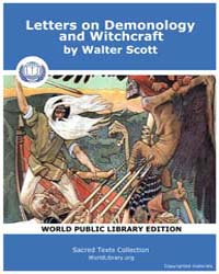 Letters on Demonology and Witchcraft by Scott, Walter