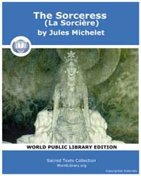 The Sorceress by Michelet, Jules