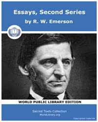 Essays, Second Series by Emerson, R. W .