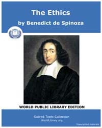 The Ethics by Spinoza, Benedict de