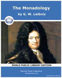 The Monadology by Leibniz, G. W .
