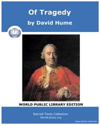 Of Tragedy by Hume, David