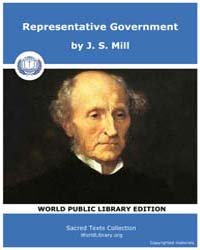 Representative Government by Mill, J. S.