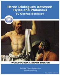Three Dialogues Between Hylas and Philon... by Berkeley, George