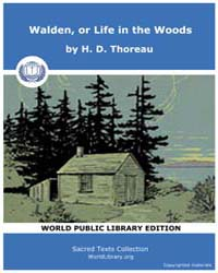 Walden, or Life in the Woods by Thoreau, H. D.