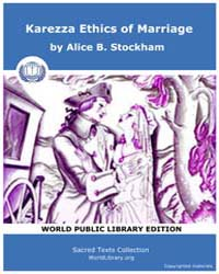 Karezza, Ethics of Marriage by Stockham, Alice B.