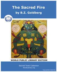 The Sacred Fire by Goldberg, B. Z.