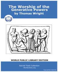 The Worship of the Generative Powers by Wright, Thomas