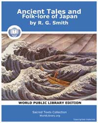 Ancient Tales and Folk-lore of Japan by Smith, R. G.