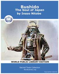 Bushido, The Soul of Japan by Nitobe, Inazo