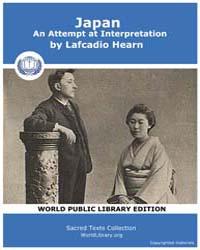 Japan, An Attempt at Interpretation by Hearn, Lafcadio