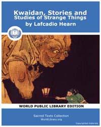 Kwaidan, Stories and Studies of Strange ... by Hearn, Lafcadio