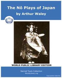 The No Plays of Japan by Waley, Arthur