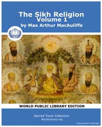 The Sikh Religion, Volume 1 by Max Arthur MacAuliff
