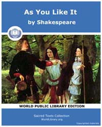 As You Like It by Shakespeare