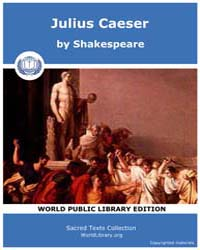 Julius Caeser by Shakespeare