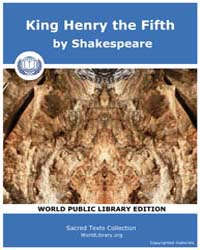 King Henry the Fifth by Shakespeare