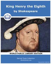 King Henry the Eighth by Shakespeare