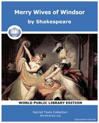 Merry Wives of Windsor by Shakespeare