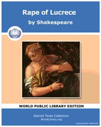 Rape of Lucrece by Shakespeare