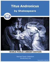 Titus Andronicus by Shakespeare