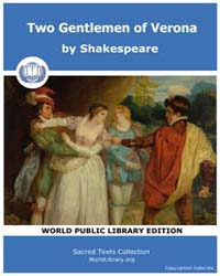 Two Gentlemen of Verona by Shakespeare