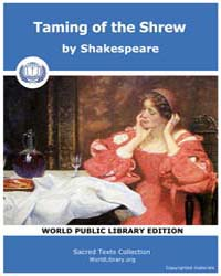 Taming of the Shrew by Shakespeare