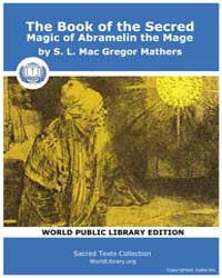 The Book of the Secred Magic of Abrameli... by Gregor Mathers, S. L. Mac