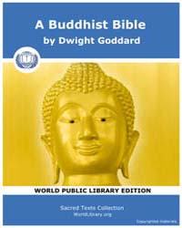 A Buddhist Bible by Goddard, Dwight