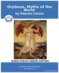 Orpheus, Myths of the World by Colum, Padraic