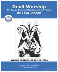 Devil Worship, The Sacred Books and Trad... by Joseph, Isya