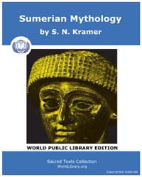 Sumerian Mythology by Kramer, S. N.