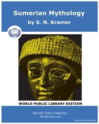 Sumerian Mythology by Kramer, S. N.