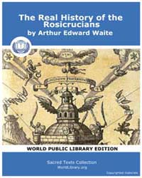 The Real History of the Rosicrucians by Waite, Arthur Edward