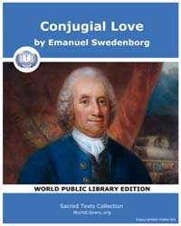 Conjugial Love by Swedenborg, Emanuel
