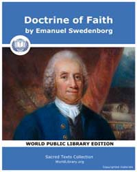 Doctrine of Faith by Swedenborg, Emanuel