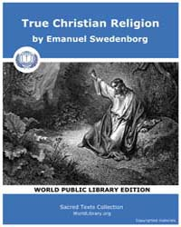 True Christian Religion by Swedenborg, Emanuel